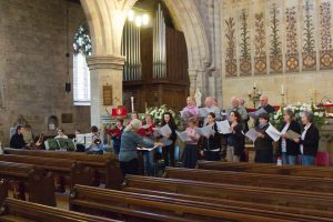 Bolton Abbey rehearsal 9th May
